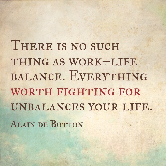 Day 27: I Don't HAVE to… Live a Balanced Life