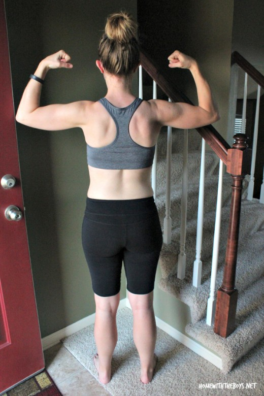 21 Day Fix After Back View