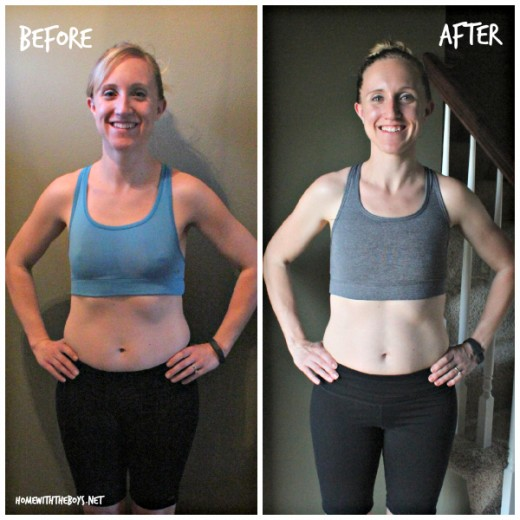 21 Day Fix Before After Front