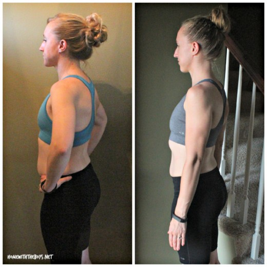 21 Day Fix Before After Side