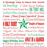 25 Songs of Christmas Sacred Final