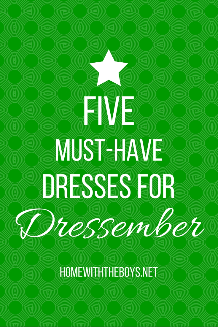 5 MUST-HAVE DRESSES FOR (4)