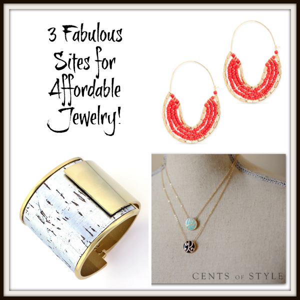 3 Fabulous + Affordable Jewelry Sites!