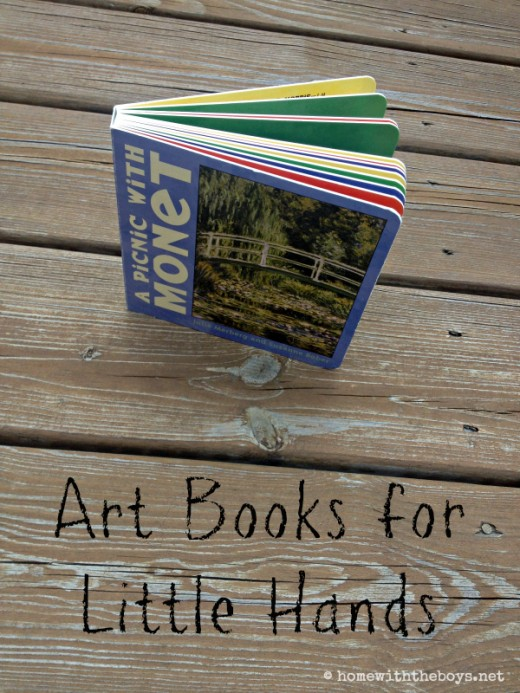 Art Books for Little Hands