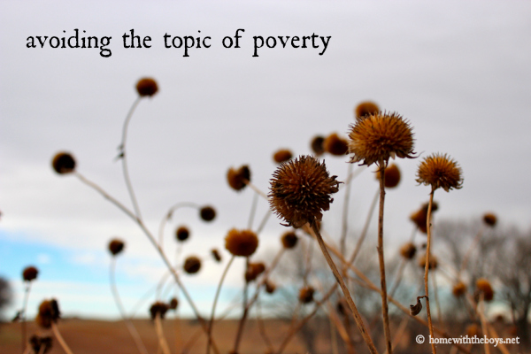 Avoiding Poverty