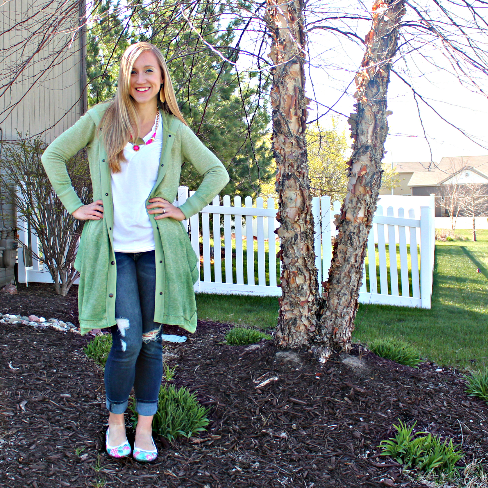 BMGMStyle Spring Flats Outfit