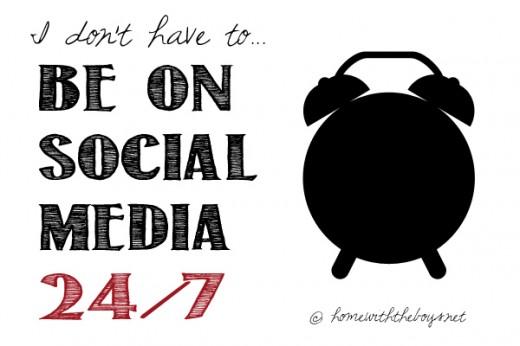 Be on Social Media