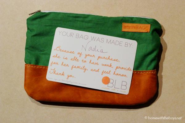 Better Life Bags Nadia