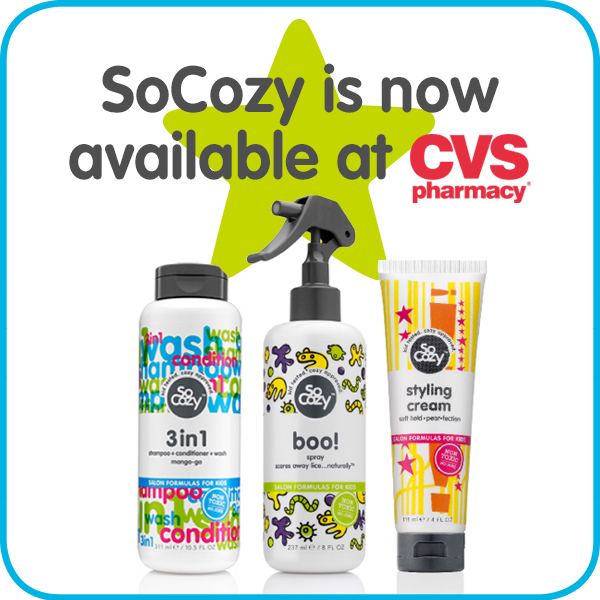 SoCozy Hair Care for Kids is at CVS!
