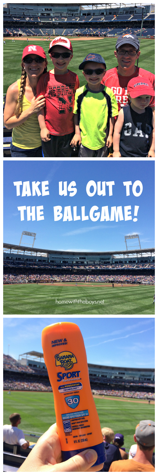 Take Us Out to the Ballgame!