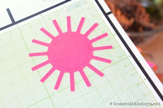 Cricut Sun