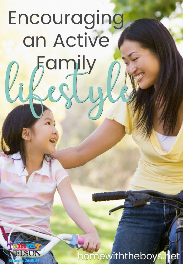 Encouraging an Active Family Lifestyle