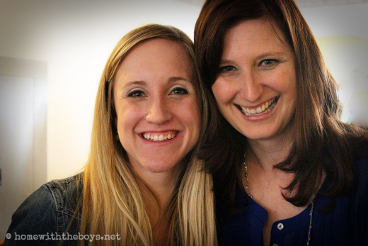 Erin and Lisa-Jo