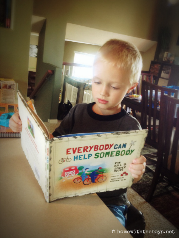 Everybody Can Help Somebody {Review + Giveaway}