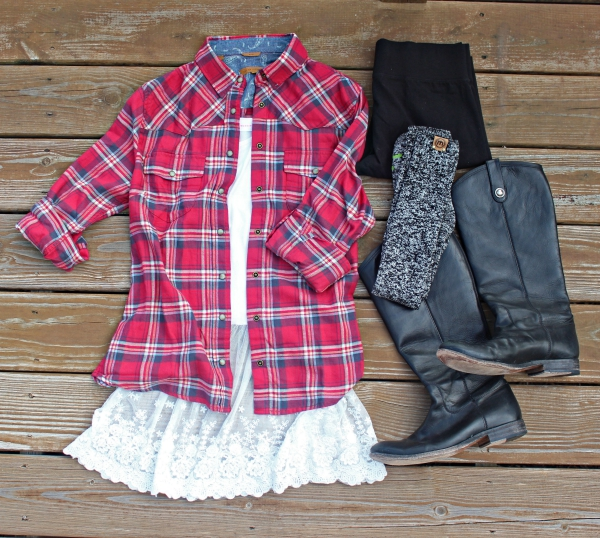 Fall Style Plaid Blog