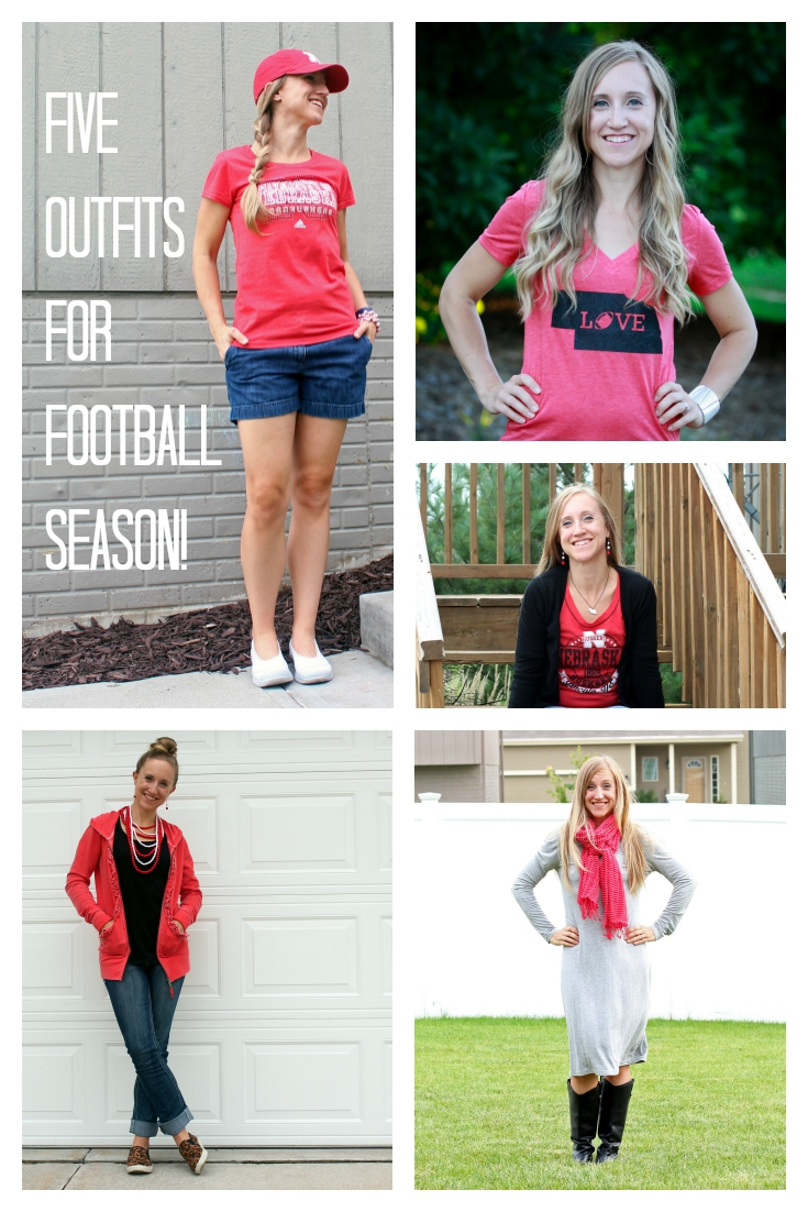 Five Outfits for Football Season!