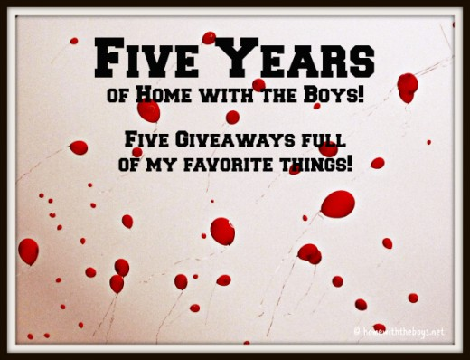 Five Years Giveaway