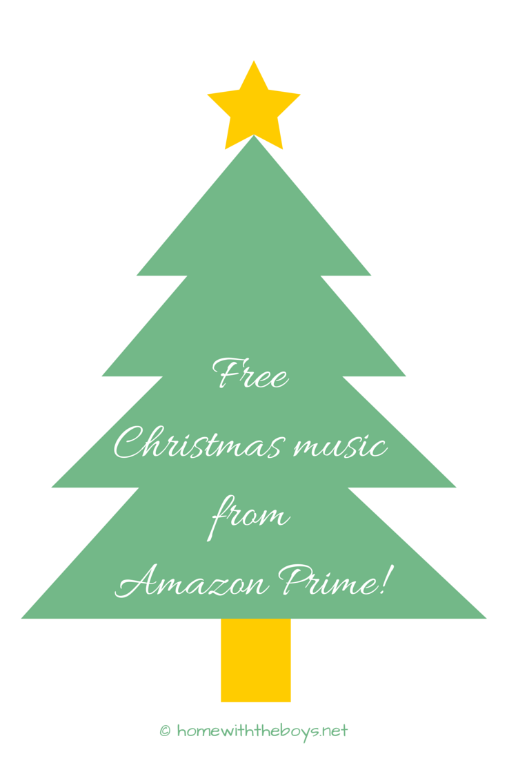 FreeChristmasmusic fromAmazon Prime