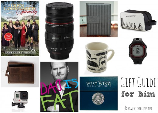 Gift Guide for Him 2013