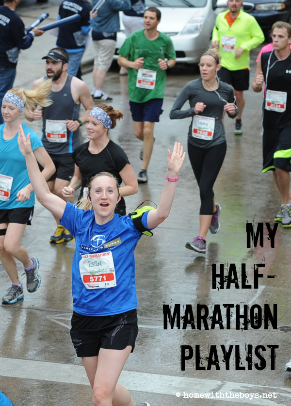 My Half Marathon Playlist!