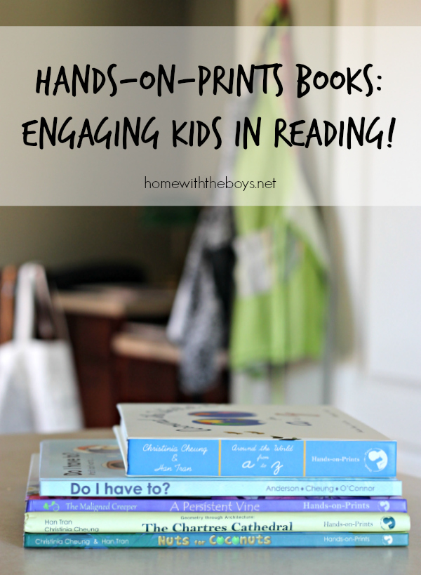 Hands-on-Prints Books: Engaging Kids in Reading!