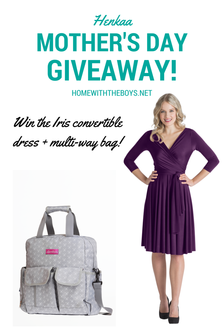 It's a Henkaa Mother's Day Giveaway!