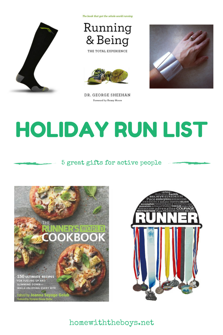 Holiday Run List: Five Great Gifts for Active People!