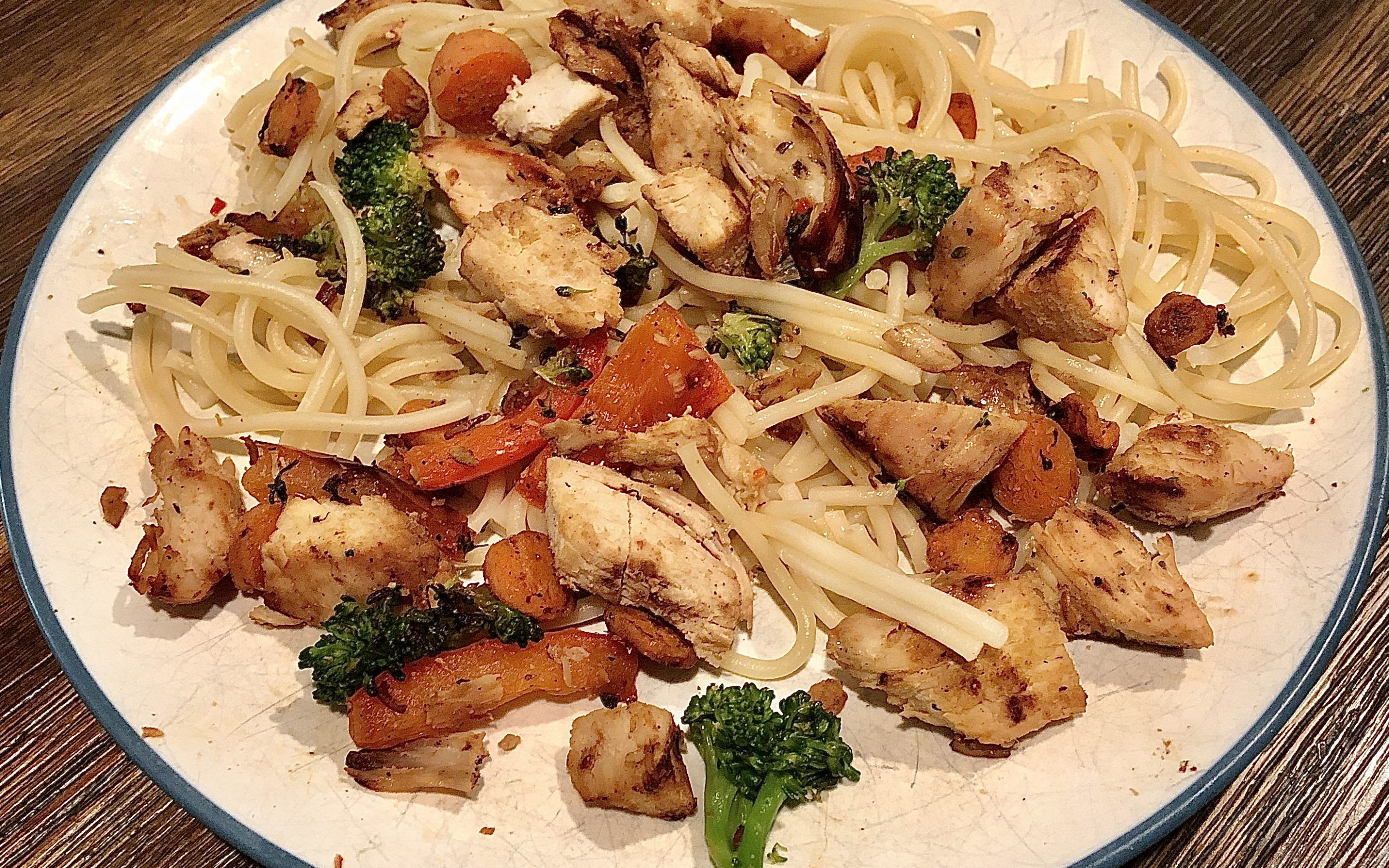 Chicken Veggie Pasta