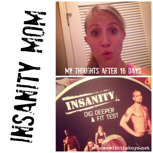 Insanity Mom Collage