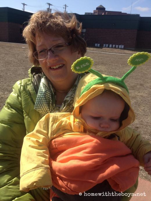 Irishman Grandma & Baby
