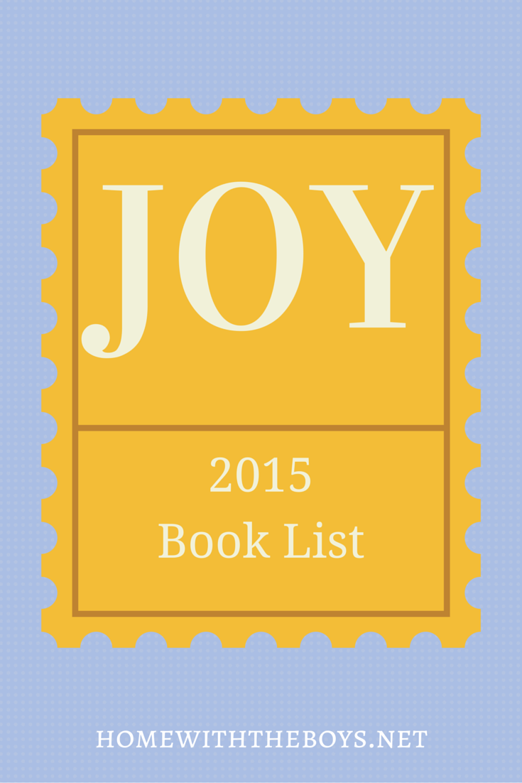 "My ""Joy"" Book List for 2015"