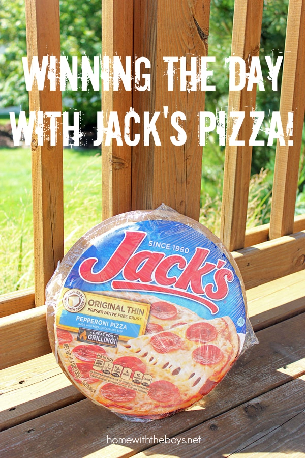 Winning the Day with Jack's Pizza!