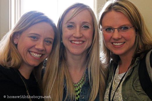 Jessica, Erin, and Vickie
