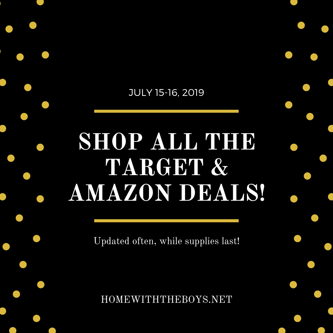 All the Target & Amazon Deals! (July 15-16)