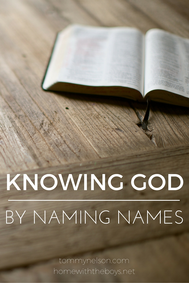 Knowing God by Naming Names