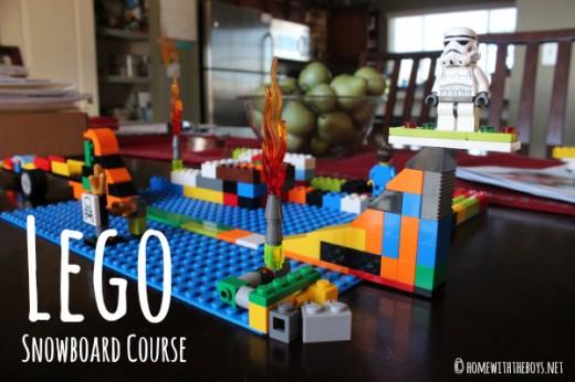 Lego Snowboard Course