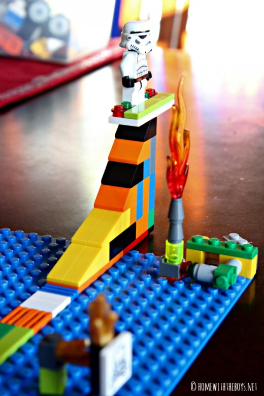 Lego Snowboard Course Boarder