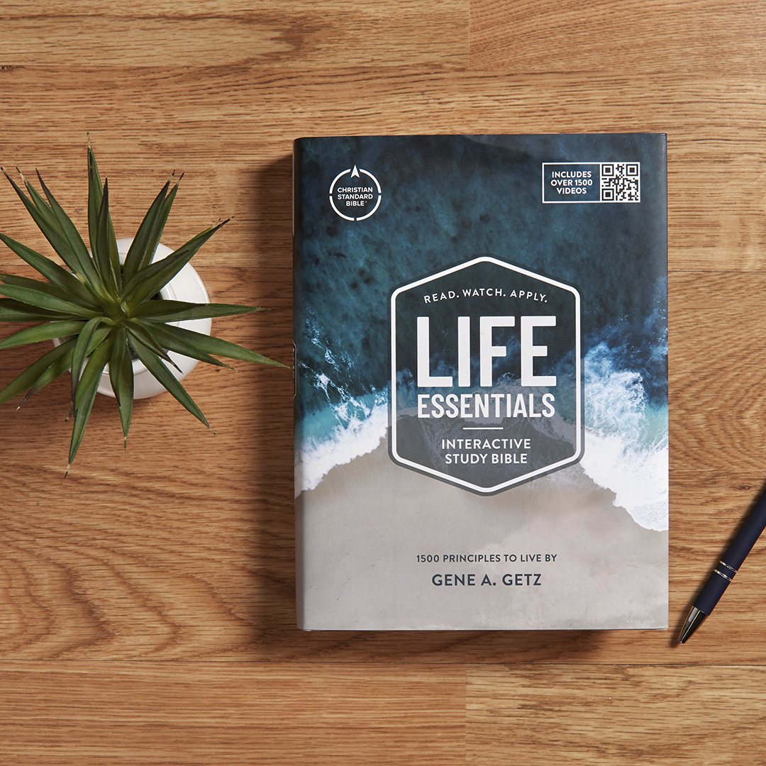 CSB Life Essentials Interactive Study Bible {Review + Giveaway}