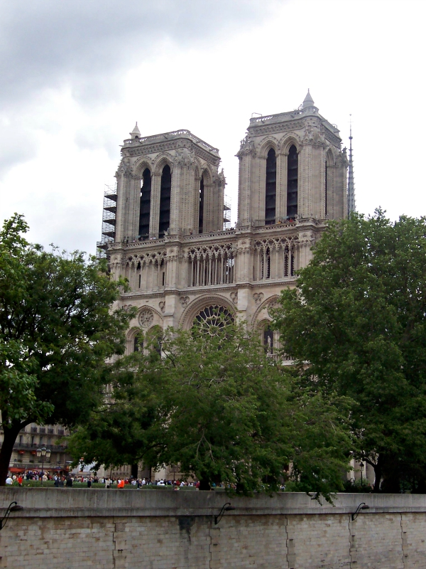 Longing for Paris Notre Dame