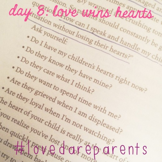 Love Dare Day 8