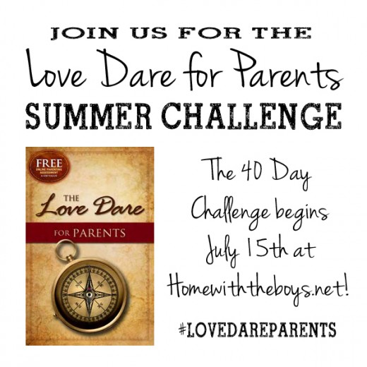 Love Dare for Parents Summer Challenge