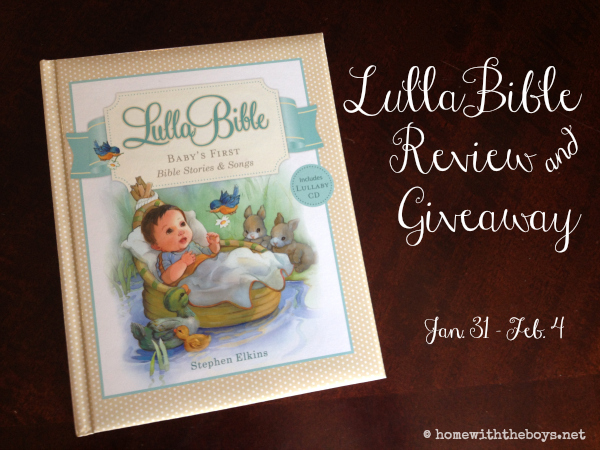 LullaBible: Baby's First Bible Stories & Songs {Giveaway!}