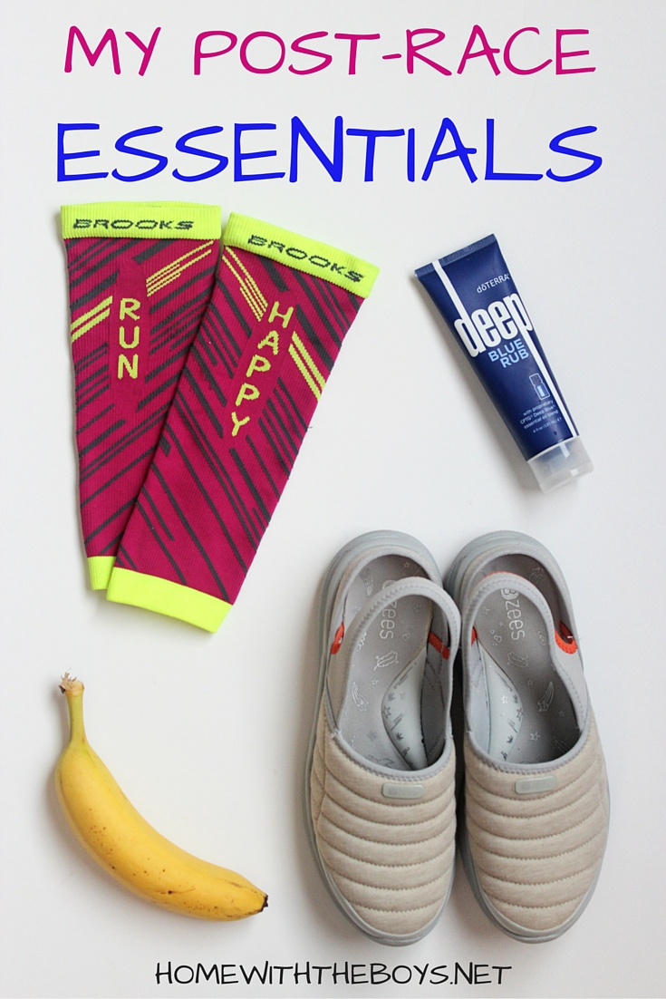 Race Day Essentials: Post-Race