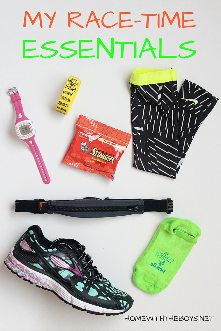 Race Day Essentials: Race Time