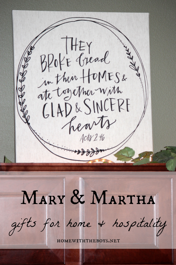 A Mary & Martha Home