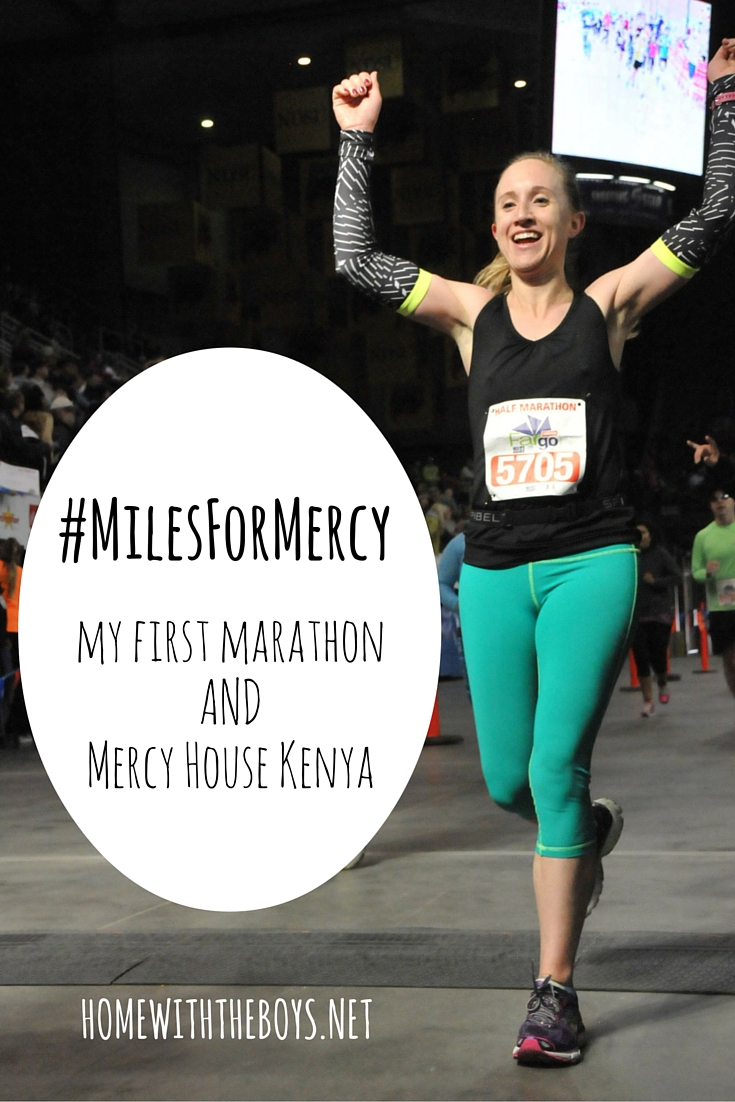 Miles for Mercy + My First Marathon