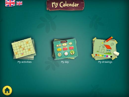 My Calendar Main Page