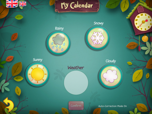 My Calendar Weather Page