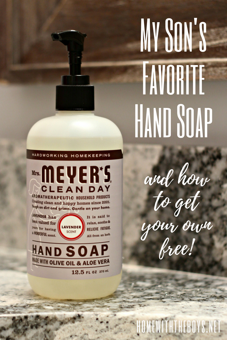 My Son's Favorite Hand Soap (And How to Get It Free!)