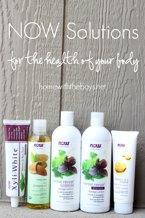 NOW Solutions for the Health of Your Body!